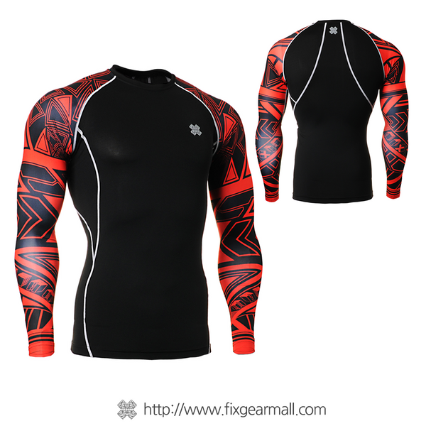 FIXGEAR CPD-B2 Compression Base Layer Long Sleeve Shirts