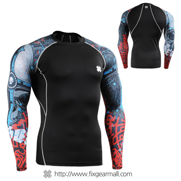 FIXGEAR CPD-B73 Compression Base Layer Shirts