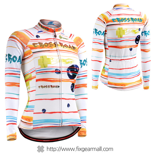 FIXGEAR CS-W2001 Women's Long Sleeve Cycling Jersey
