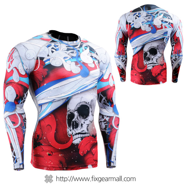 FIXGEAR CFL-19R Compression Base Layer Shirts
