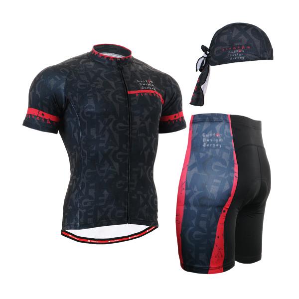 FIXGEAR Men's Cycling Jerseys & Padded Shorts CS-g602 SET