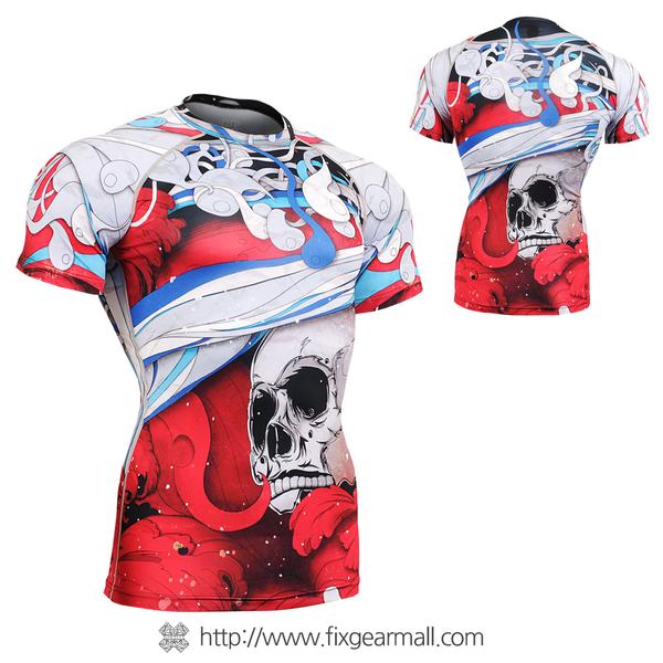 FIXGEAR CFS-19R Compression Base Layer Shirts