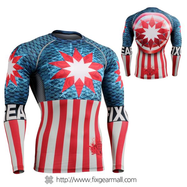FIXGEAR CFL-37 Compression Base Layer Shirts