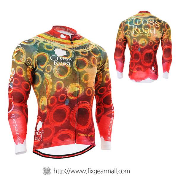 FIXGEAR CS-401 Men's Cycling Jersey long sleeve