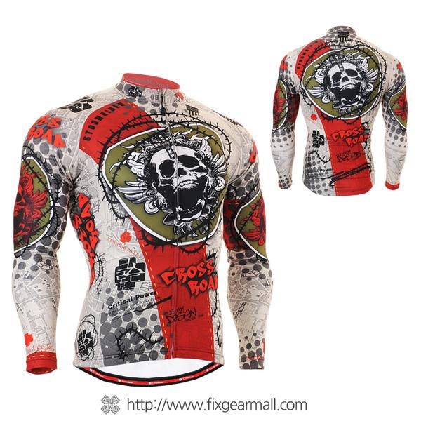 FIXGEAR CS-501 Men's Cycling Jersey long sleeve