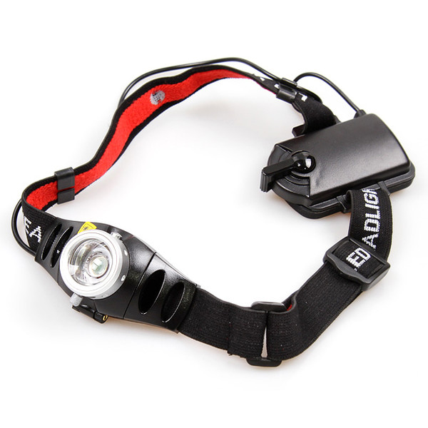 TK37 Focusable CREE LED Headlamp Flashlight