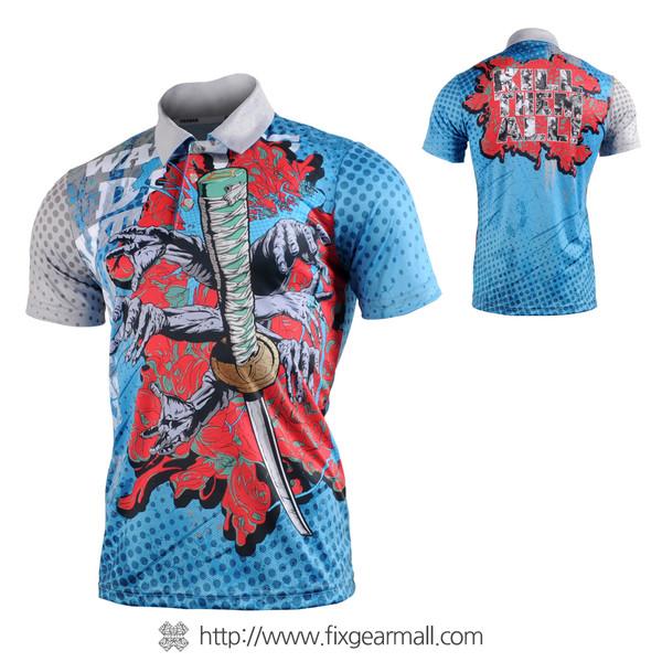 FIXGEAR FPO-77 Mens short sleeve jersey Polo shirt