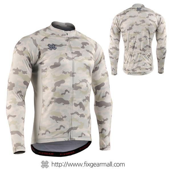 FIXGEAR CS-M1Y1 Men's Long Sleeve Cycling Jersey