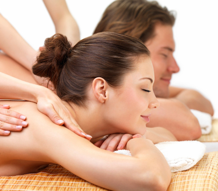Massage For Two Package - 80 mins