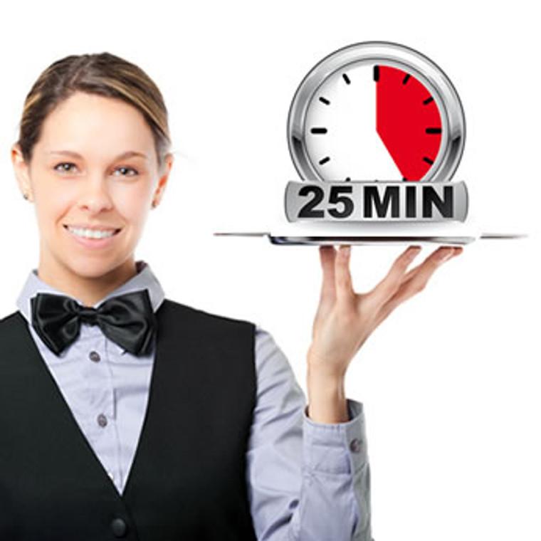 A La Carte Indian Head Massage - 25 mins