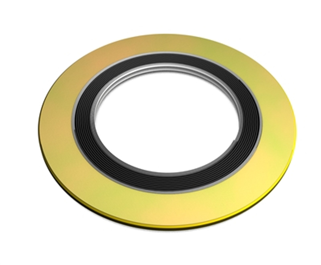 0.81 ID Pressure Class 300# Pack of 96 Sterling Seal SSI9000IR.750304GR300X96 304 Stainless Steel Spiral Wound Gasket with 304SS Inner Ring and Flexible Graphite Filler for 3//4 Pipe 2.625 OD