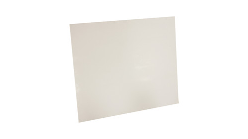 White Virgin PTFE Sheet,  Dimensions: Length: 12 Inches (30.48Cm), Width: 12 Inches (30.48Cm) Thickness: 1/32 Inches (296900.6mm), Part Number: 7530.031212x12