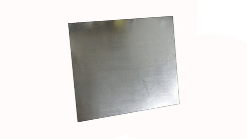 Black Graphite/316 Stainless Steel Flexible Reinforced Gasket Material,  Dimensions: Length: 40 Inches (101.6Cm), Width: 40 Inches (101.6Cm), Thickness: 1/8(0.125) Inches (0.3175Cm) Part Number: 7000.12540x40