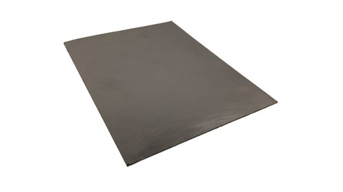 Black Graphite/316 Stainless Steel Flexible Reinforced Gasket Material,  Dimensions: Length: 10 Inches (25.4Cm), Width: 13 Inches (33.02Cm), Thickness: 1/16(0.062) Inches (0.15748Cm) Part Number: 7000SP.062.10X13