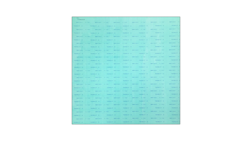 Teadit NA1001 Green Aramid Fibers/NBR Non-Asbestos Compressed Sheet, Dimensions: Length: 59 Inches (149.86Cm), Width: 63 Inches (160.02Cm), Thickness: 1/64(0.015625) Inches (0.0396875Cm) Part Number: NA1001.01560X60