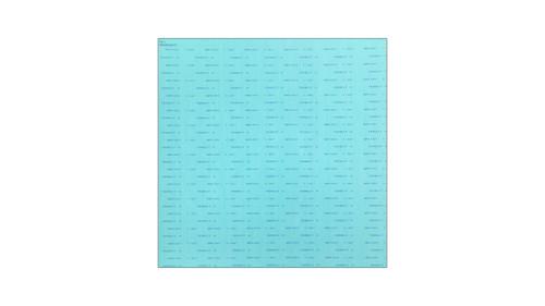 Teadit NA1001 Green Aramid Fibers/NBR Non-Asbestos Compressed Sheet, Dimensions: Length: 59 Inches (149.86Cm), Width: 63 Inches (160.02Cm), Thickness: 1/32(0.03125) Inches (0.079375Cm) Part Number: NA1001.03160X60