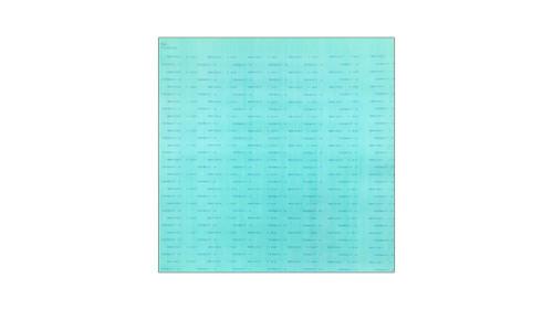 Teadit NA1001 Green Aramid Fibers/NBR Non-Asbestos Compressed Sheet, Dimensions: Length: 29.5 Inches (74.93Cm), Width: 31.5 Inches (80.01Cm), Thickness: 1/16(0.0625) Inches (0.15875Cm) Part Number: NA1001.06230X30