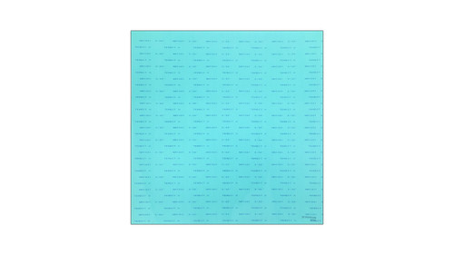 Teadit NA1001 Green Aramid Fibers/NBR Non-Asbestos Compressed Sheet, Dimensions: Length: 59 Inches (149.86Cm), Width: 63 Inches (160.02Cm), Thickness: 3/32(0.09375) Inches (0.238125Cm) Part Number: NA1001.09360X60