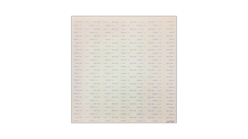 Teadit Style NA1080 Off-White Compressed Non-Asbestos SBR Gasket Sheet, Dimensions: Length: 29.5 Inches (74.93Cm), Width: 29.5 Inches (74.93Cm), Thickness: 1/16(0.0625) Inches (0.15875Cm) Part Number: NA1080.06230X30