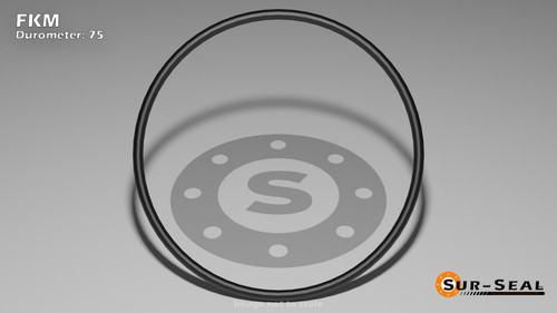 O-Ring, Black Viton/FKM Size: 116, Durometer: 75 Nominal Dimensions: Inner Diameter: 14/19(0.737) Inches (1.87198Cm), Outer Diameter: 33/35(0.943) Inches (2.39522Cm), Cross Section: 7/68(0.103) Inches (2.62mm) Part Number: ORVT116