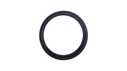 Quad Ring, Black BUNA/NBR Nitrile Size: 019, Durometer: 70 Nominal Dimensions: Inner Diameter: 4/5(0.801) Inches (2.03454Cm), Outer Diameter: 16/17(0.941) Inches (2.39014Cm), Cross Section: 4/57(0.07) Inches (1.78mm) Part Number: XP70BUN019