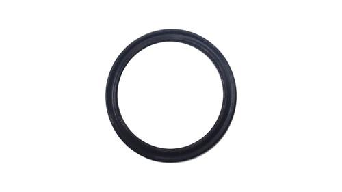 Quad Ring, Black Viton/FKM Size: 015, Durometer: 75 Nominal Dimensions: Inner Diameter: 27/49(0.551) Inches (1.39954Cm), Outer Diameter: 38/55(0.691) Inches (1.75514Cm), Cross Section: 4/57(0.07) Inches (1.78mm) Part Number: XP75VIT015