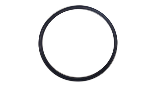 Quad Ring, Black Viton/FKM Size: 432, Durometer: 75 Nominal Dimensions: Inner Diameter: 5 7/20(5.35) Inches (13.589Cm), Outer Diameter: 5 9/10(5.9) Inches (14.986Cm), Cross Section: 11/40(0.275) Inches (6.99mm) Part Number: XP75VIT432