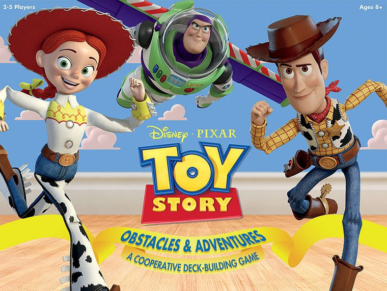 Toy Story Obstacles and Adventures Deckbuilder