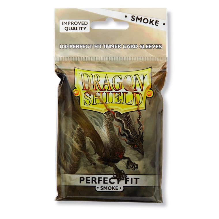 Dragon Shield Perfect Fit 100ct Smoke