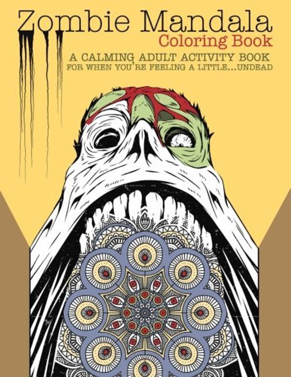 Zombie Mandalas Coloring Book