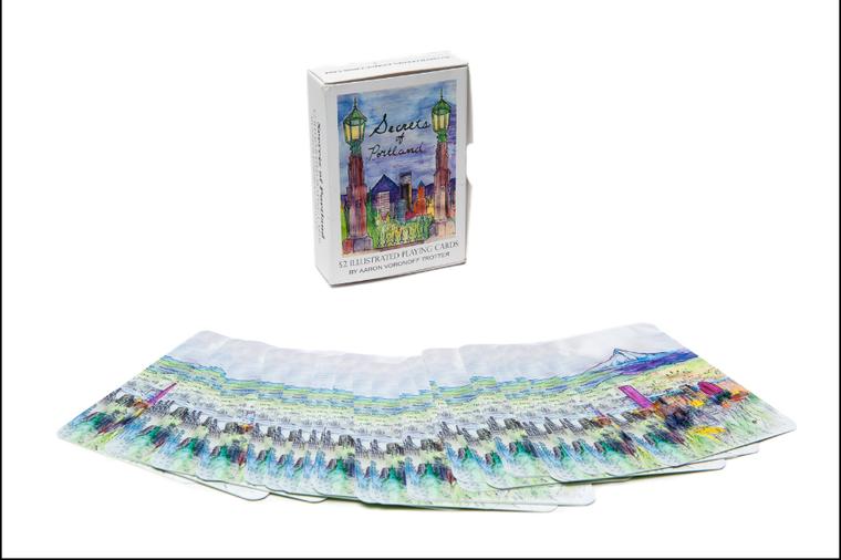 Secrets of Portland Art Playing Cards