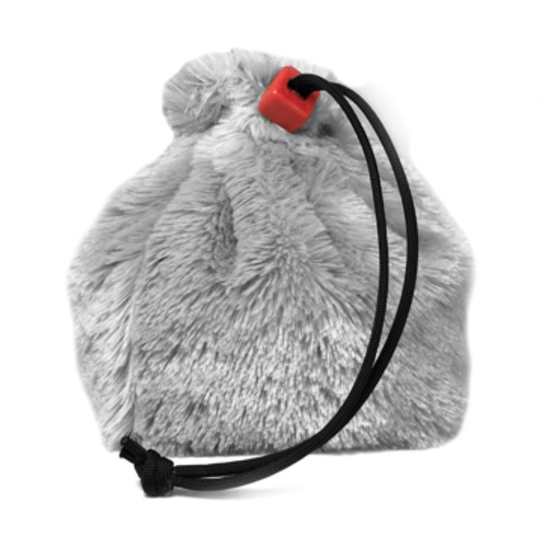 Dice Bag - Fur Polar Bear