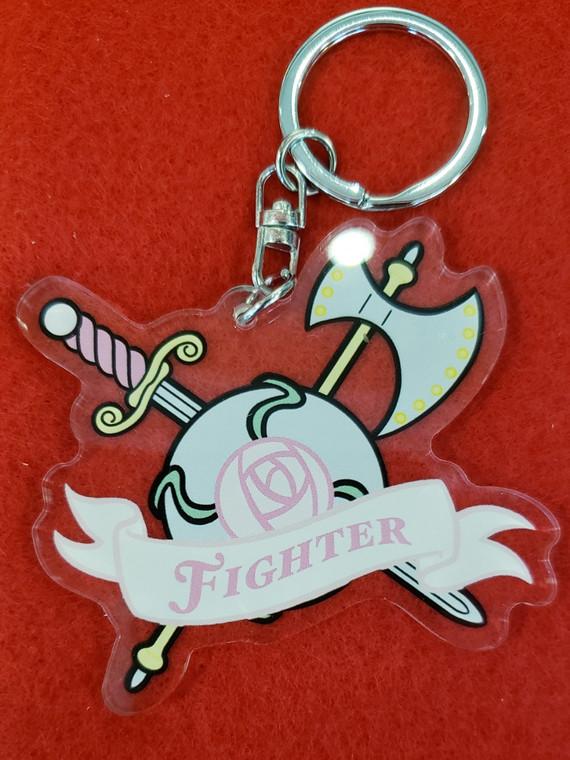 Fighter Keychain