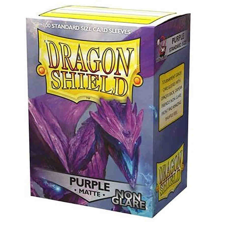 Dragon Shield Non Glare Matte Purple