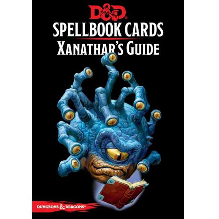 D&D 5E Spellbook Cards Xanathar's Guide