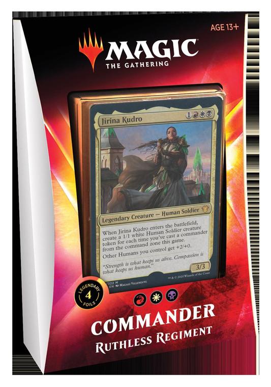 Commander 2020 Ruthless Regiment