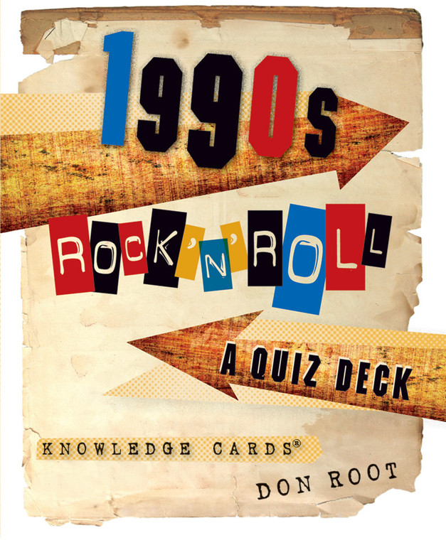 Knowledge Cards 1990s Rock'n'Roll
