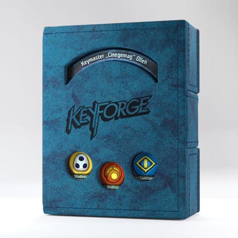 Keyforge Deck Book Blue