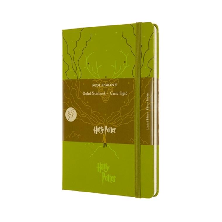 Moleskine LE Harry Potter 3 Ruled Olive Green HC