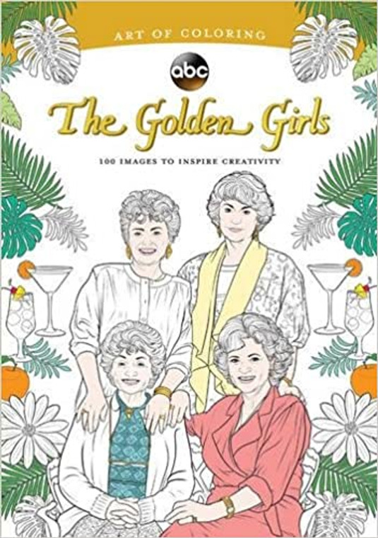 The Golden Girls Art of Coloring