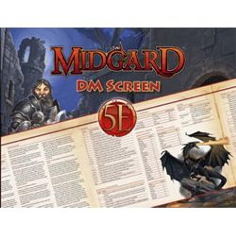 D&D 5E Midgard DM Screen