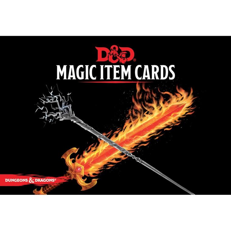 D&D 5E Magic Item Cards