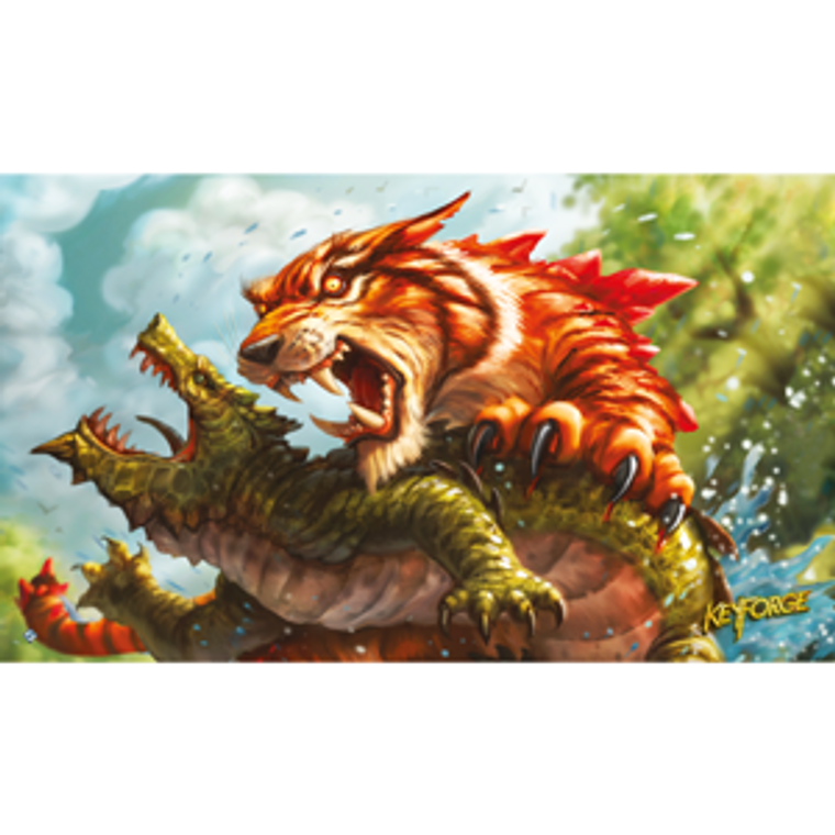 Keyforge Call of the Archons Mighty Tiger Game Mat