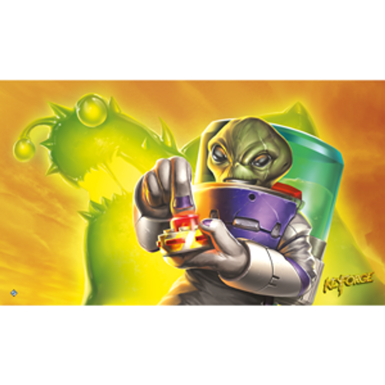 Keyforge Call of the Archons Positron Martian Madness Mat