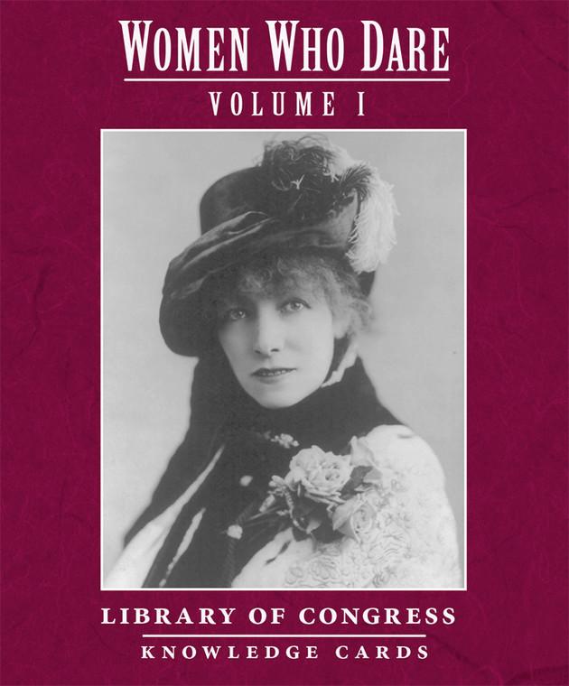 Knowledge Cards Women Who Dare Vol 1