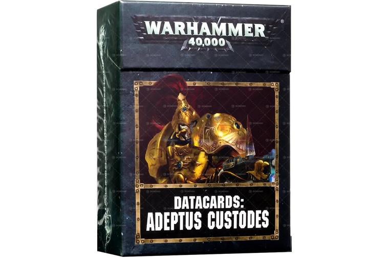 Adeptus Custodes: Datacards