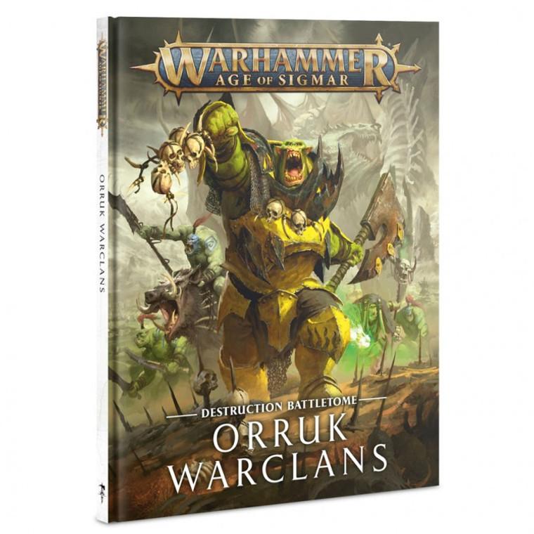 Orruk Warclans Battletome
