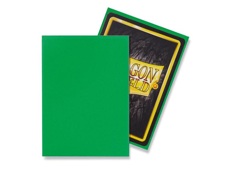 Dragon Shield Matte 100ct Apple Green