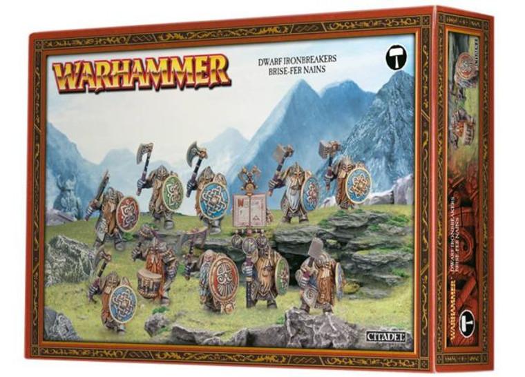Dwarf Ironbreakers Brise Fer Nains