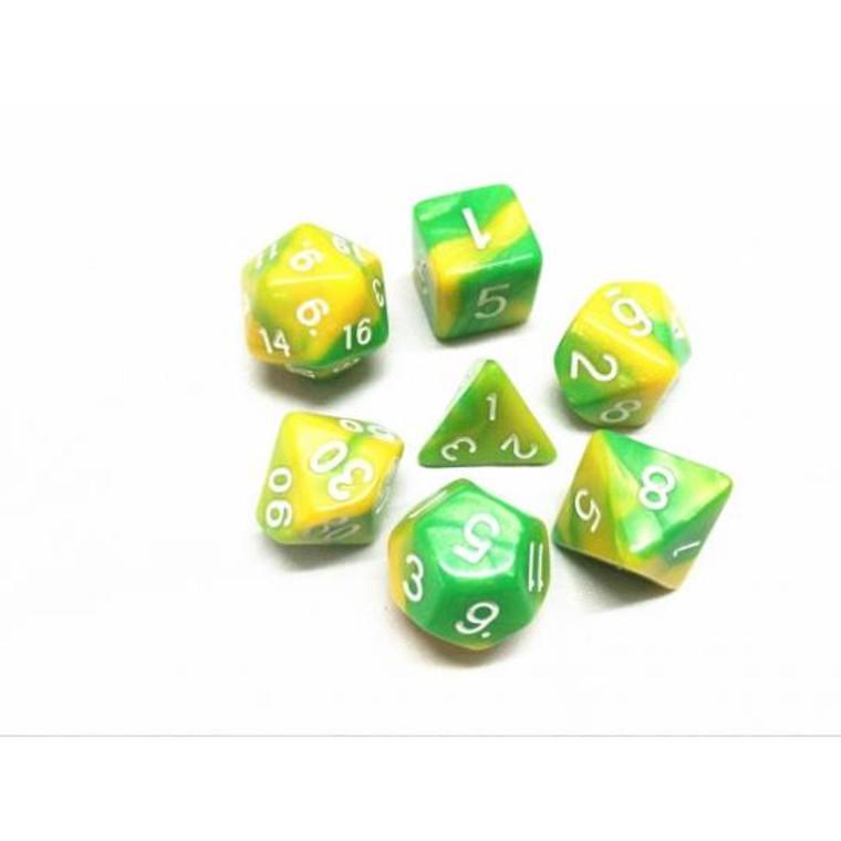RCG Poly Green Yellow Blend (White)